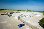 Swine Headquarters, Breeding -Gestation - Farrowing Buildings Picture- {Click to Enlarge}