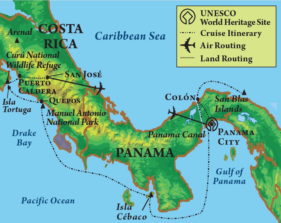 UK Alumni Association - Traveling Wildcats: Panama Canal ...