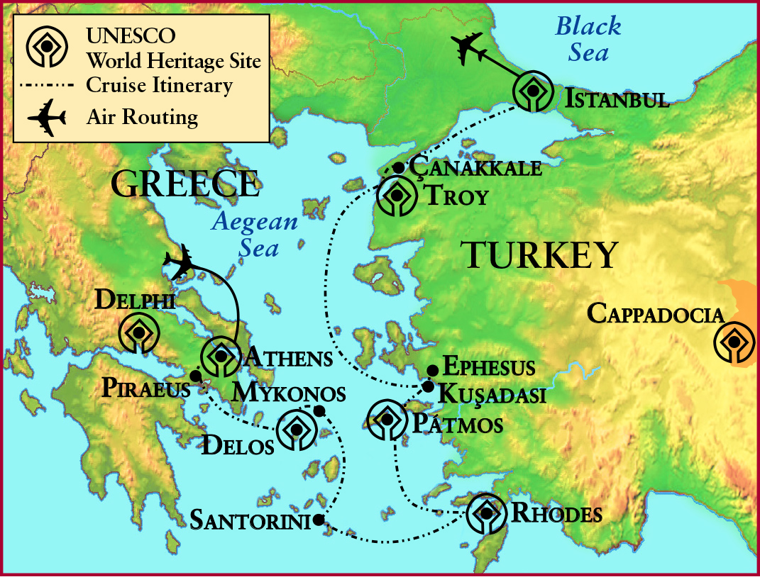 UK Alumni Association - Island Life in Ancient Greece and Turkey