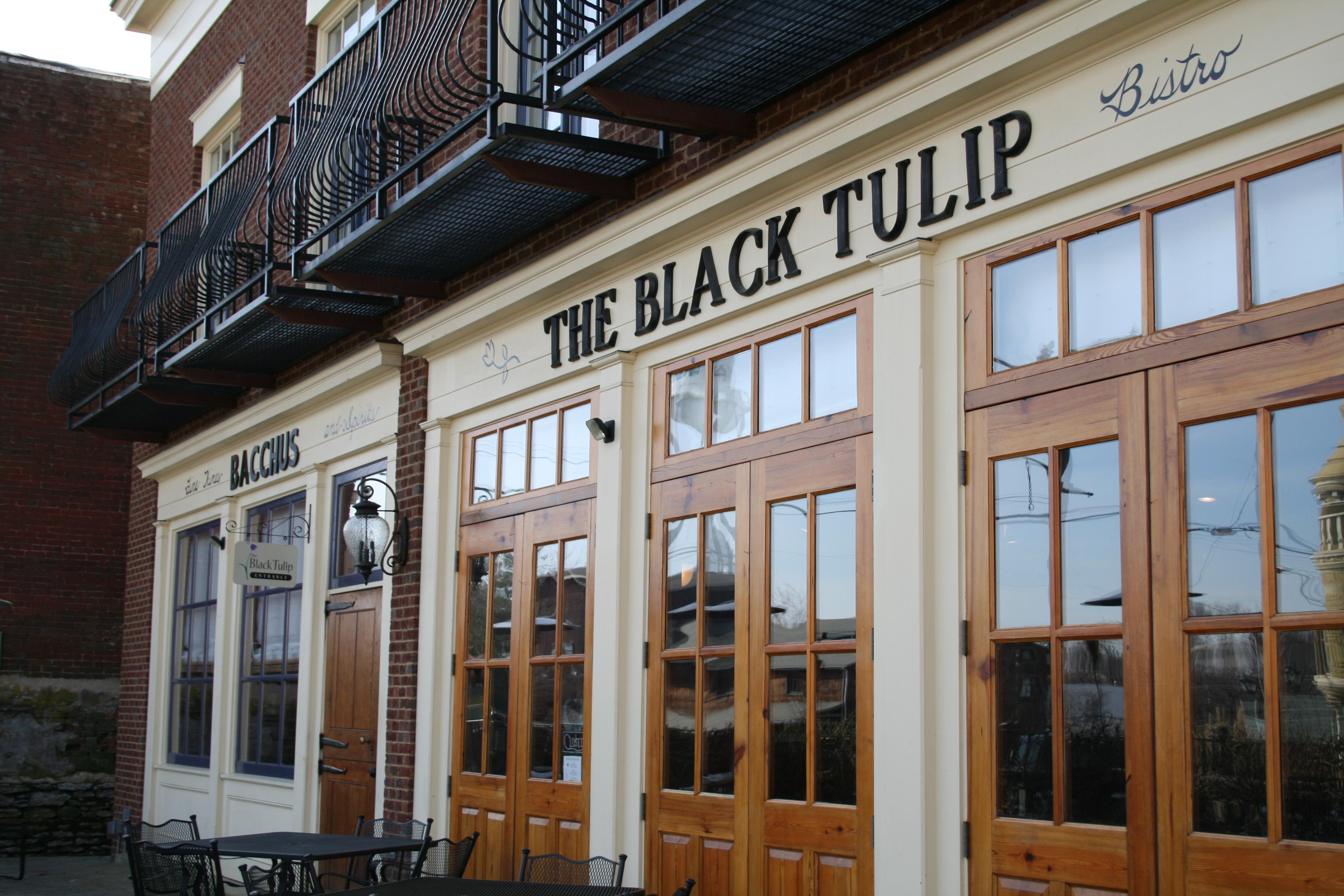 The Black Tulip Exterior