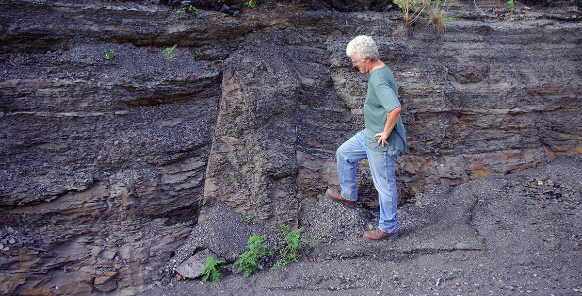 Kettlebottoms In Mine Roofs Coal Mining Geology Kentucky