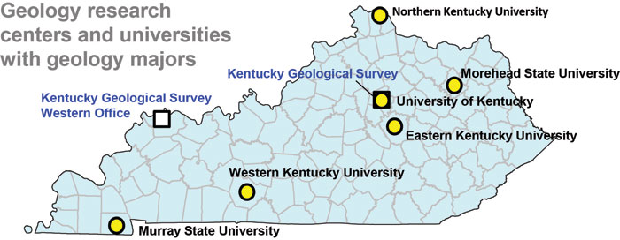 University Of Kentucky Majors >> Kentucky Earth Science Information Sources