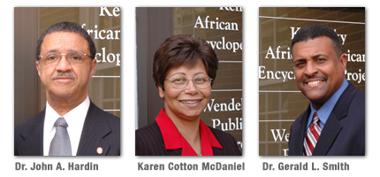 Picture of Dr. John A. Hardin, Karen Cotton McDaniel, Dr. Gerald L. Smith