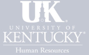 University of Kentucky Human Resources