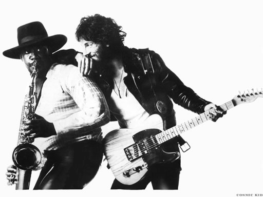 Clarence Clemons & The Boss