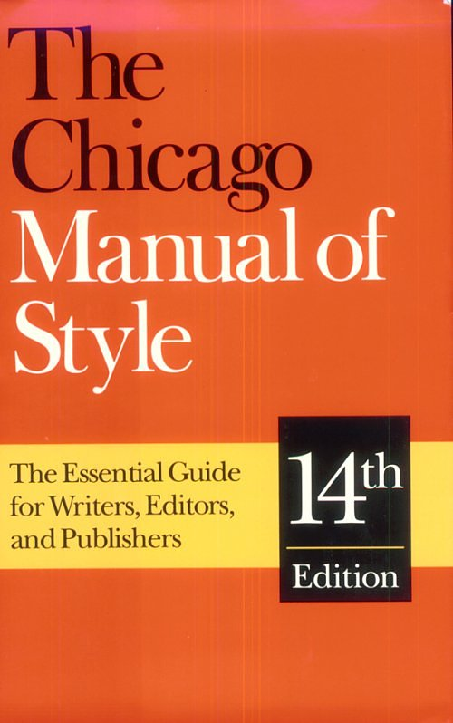 chicago manual style Chicago citation examples (mla) style and the style taken from the chicago manual of style (for the purpose of this guide will be referred to as chicago.