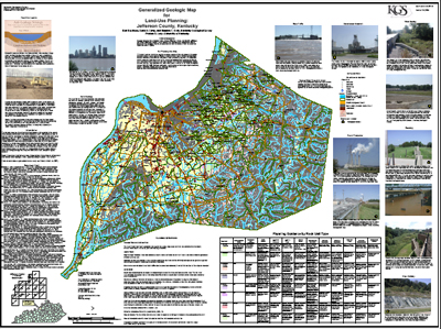 Kentucky land-use planning maps available to teachers