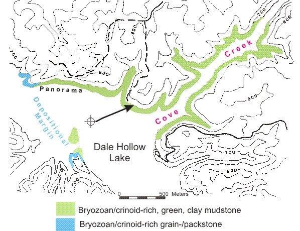 Norris Lake Tennessee Map.Cove Creek Mound Dale Hollow Lake Tn Virtual Field Trip Kentucky
