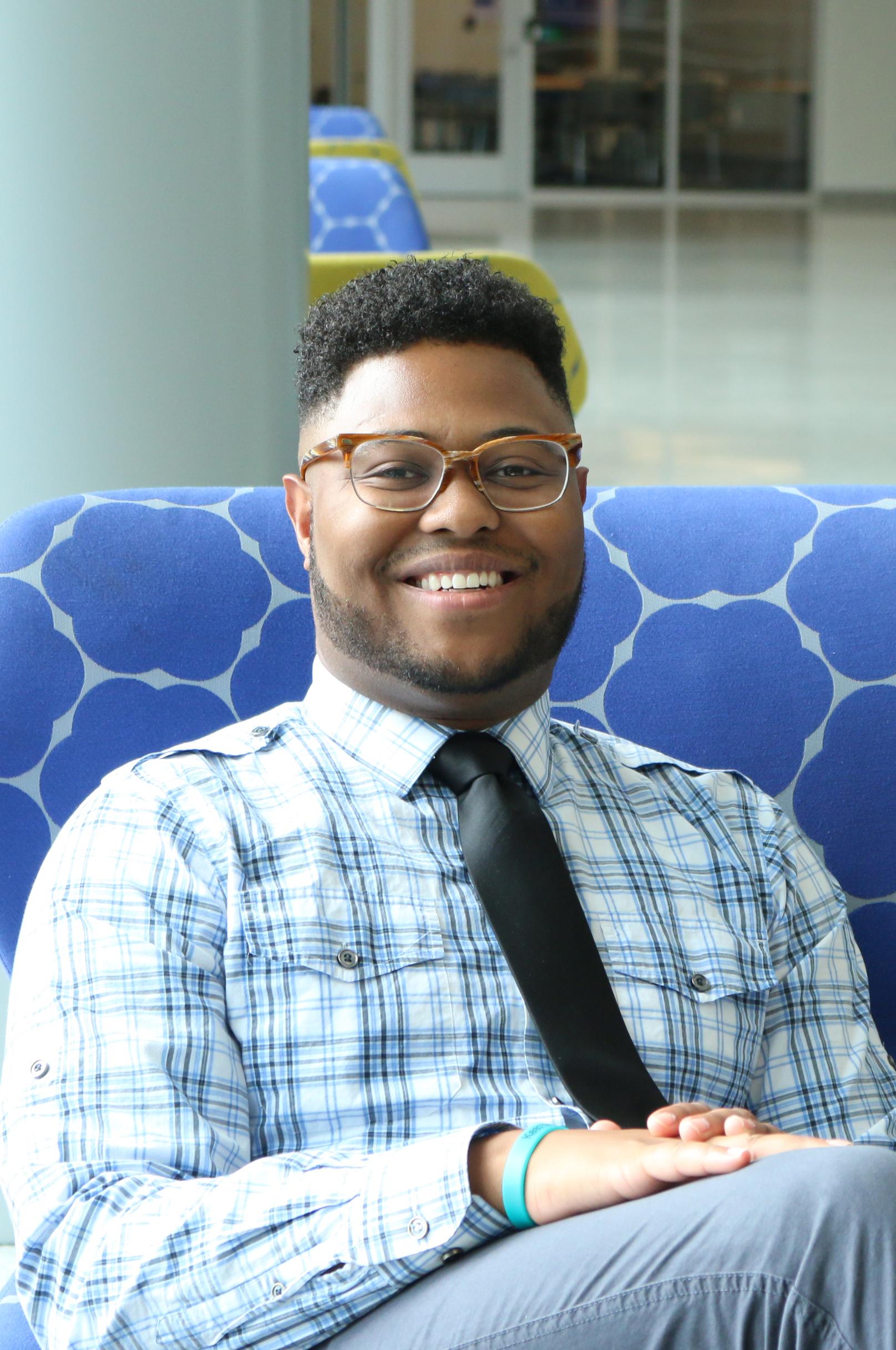 Daniel Beasley, social work student