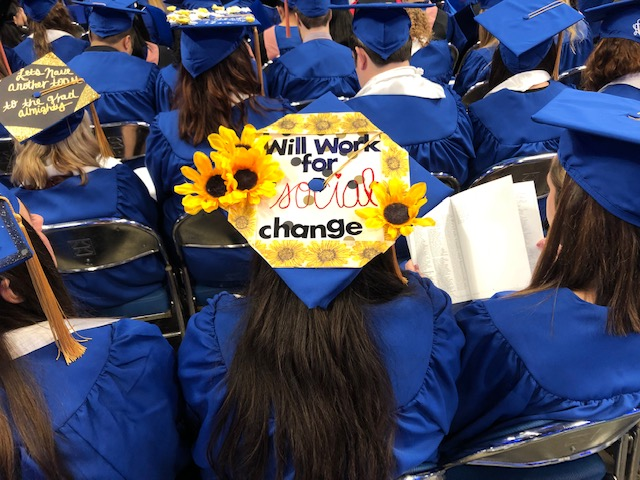 MSW graduates are prepared to facilitate social change.