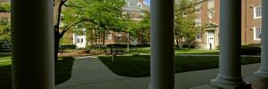 Bradley Quadrangle through columns