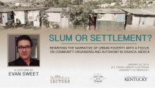 Slum or Settlement
