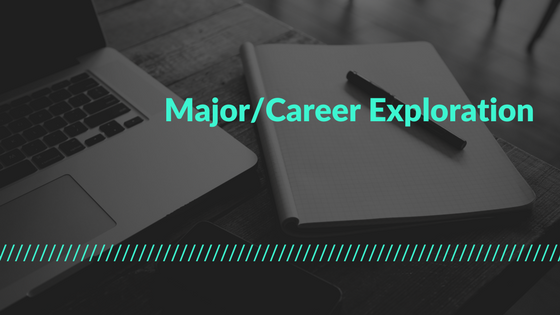Major and Career Exploration Button