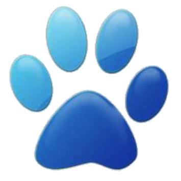 Blue Paw Bullet Point