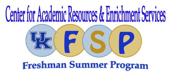 UK CARES Freshman Summer Program