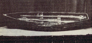 A daguerrotype photograph of the lifeboat from the infamous Dudley Stephens case