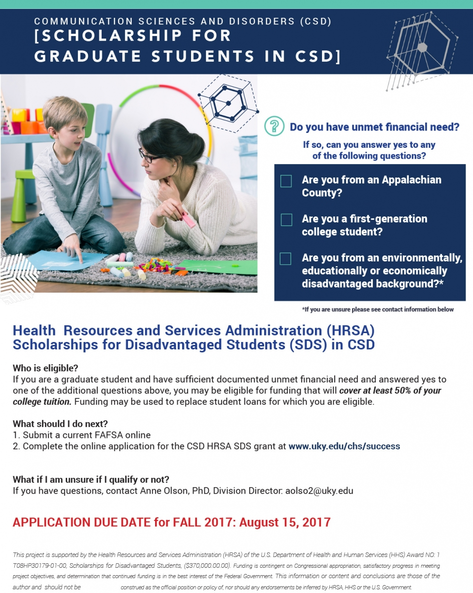 Funding opportunity success scholarship