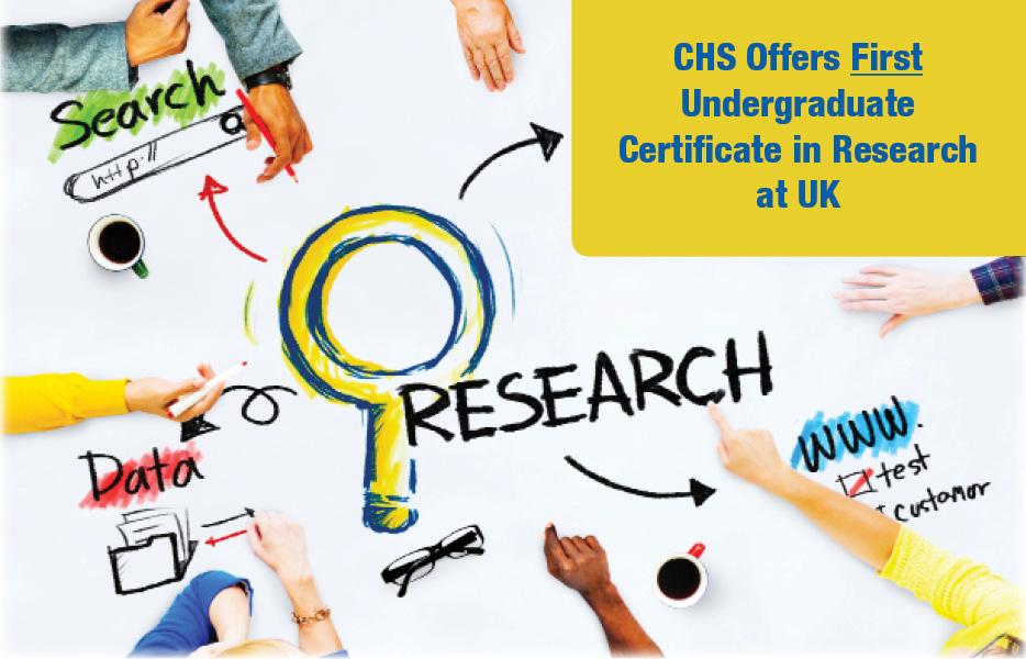 Certificate In Undergraduate Research In Human Health Sciences