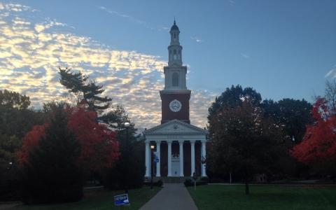 Memorial Hall in Morning