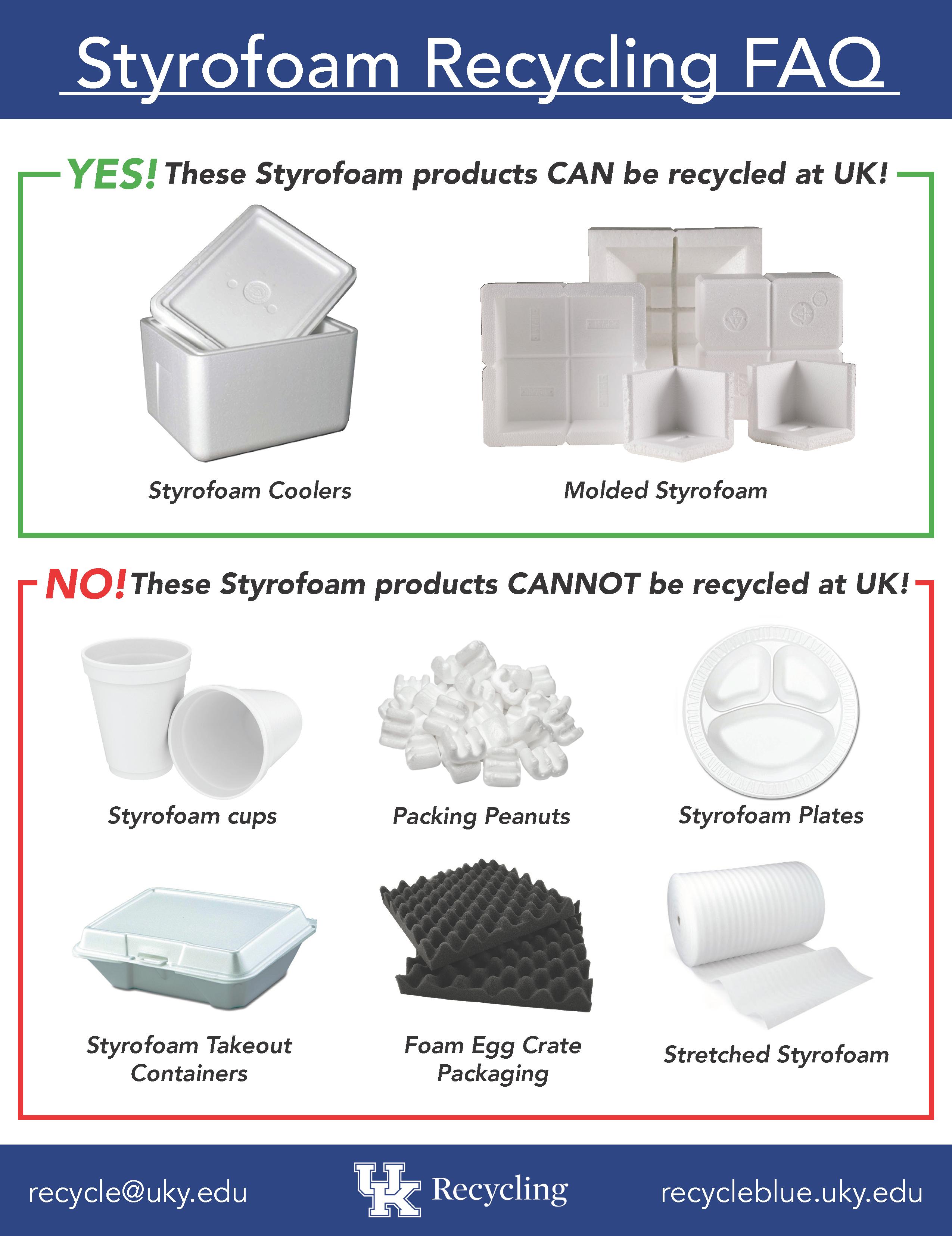 Styrofoam Coolers Facilities Management