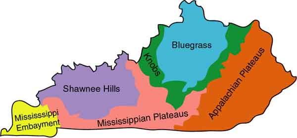 Ecological Regions of Kentucky | Department of Horticulture on
