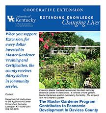 Master Gardener Success Story from Daviess County
