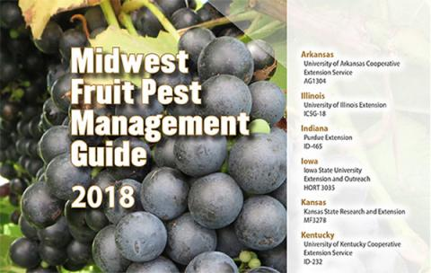 Cover of 2018 Midwest Fruit Pest Management Guide