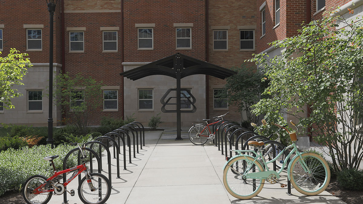Donovan Hall Exterior Bike Racks