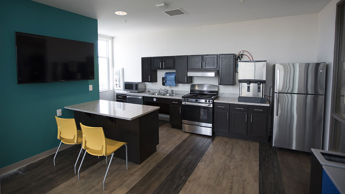 Holmes Hall Kitchen Area