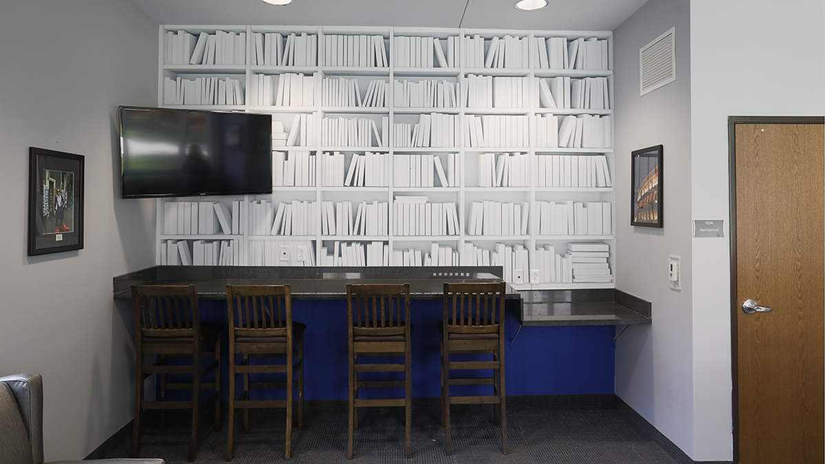 Study Area in Johnson Hall