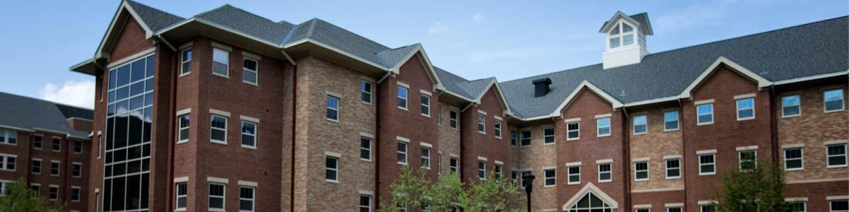 Photo of new residence halls