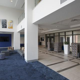 Holmes Hall Reception Area