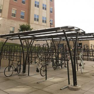 Jewell Hall Bike Racks