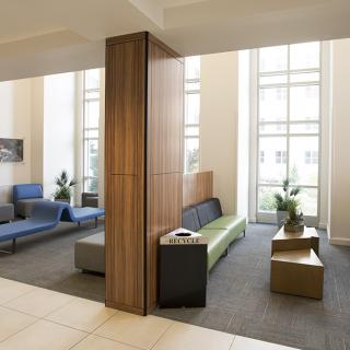 Jewell Hall Common Areas