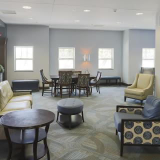 Common Area in Johnson Hall