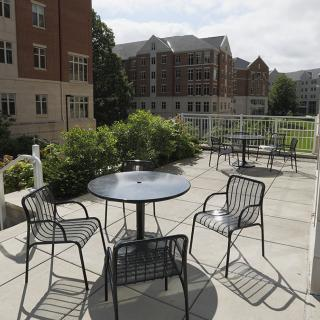 Outdoor Patio at Woodland Glen I