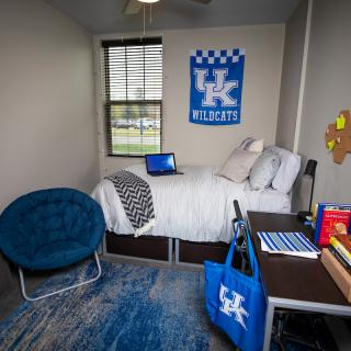 Photo of 2nd bedroom in Haggin Hall