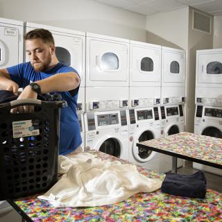 Laundry Room in Boyd Hall