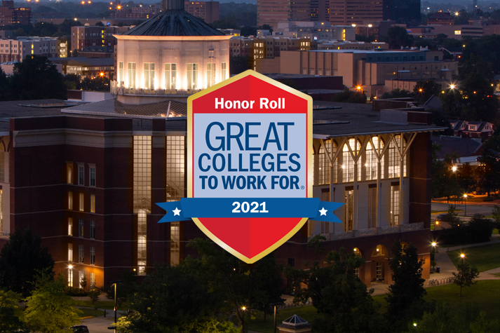 Great College to Work For 2021