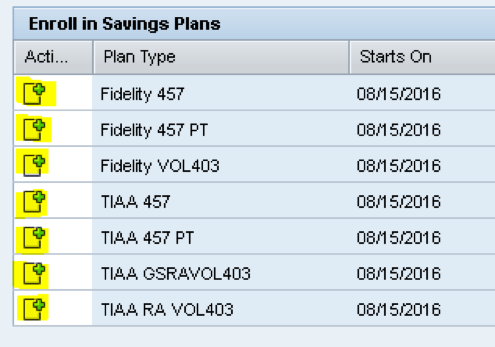 enroll in savings plan