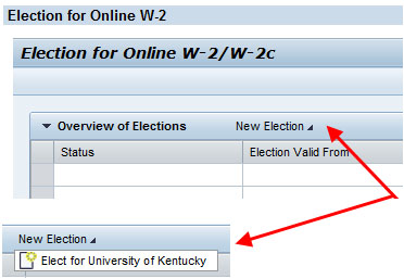 select new election university of kentucky