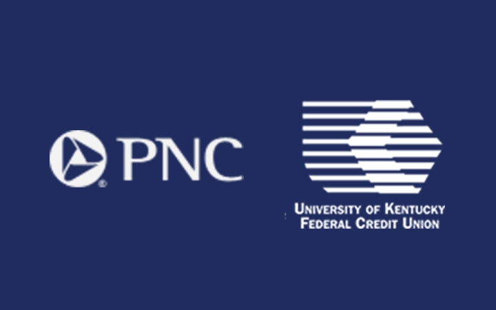 PNC logo and UKFCU logo