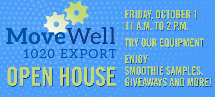 Open House at MoveWell Export Fitness Center