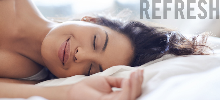 Refresh your mind and body through sleep