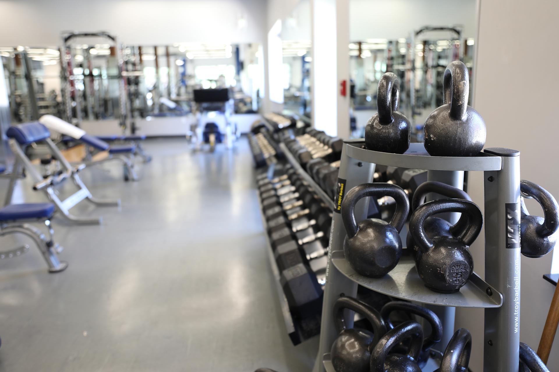 On-campus fitness centers