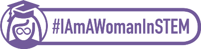 IAmAWomanInSTEM horizontal logo