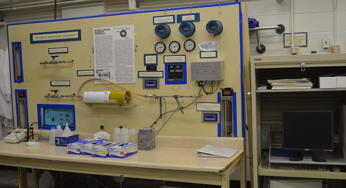 Computer Controlled High Pressure Membrane System for Educational lab and Research
