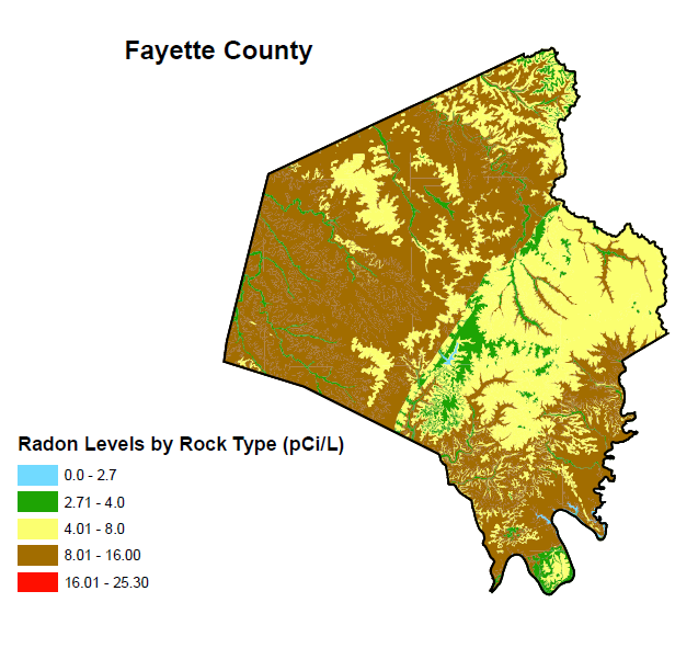 BREATHE Nursing Researchers Collaborate with Geologists to Map Radon ...