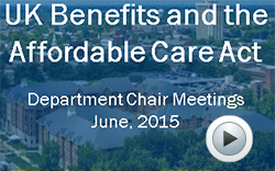 UK Benefits and the Affordable Care Act