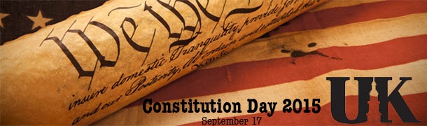 Constitution Day at UK 2015